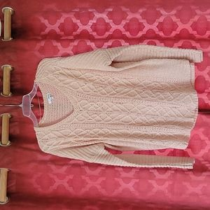 Sonoma Women's XL Cable Knit Sweater